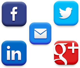 Social Media Logos - CausesFunding.TEAM